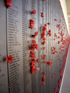 Fig. 3. Le Roll of Honour de l'Australian War Memorial commémorant chaque Australien mort à la guerre. Photo : Romain Fathi