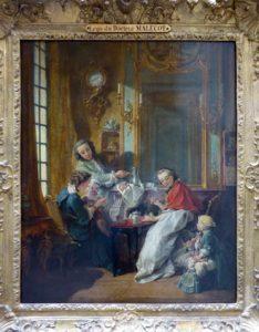 François Boucher, The Lunch</i> (1739), oil on canvas, 81 × 65 cm, Paris, Louvre Museum