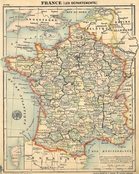 0786fa5c500 L organisation territoriale française et ses réformes