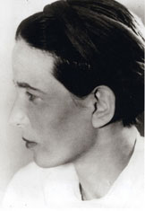 Photo de Simone de Beauvoir, 1939
