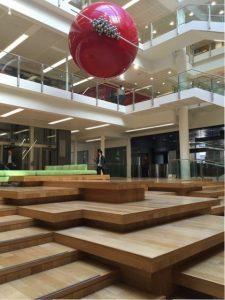 """LSE New academic building - Un continuum d'espaces """"apprenant"""" ©JLL / Sciences Po"""