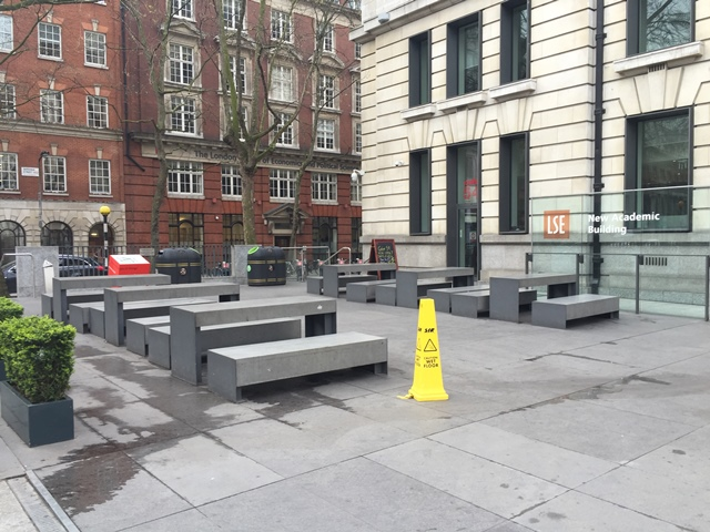 LSE Campus, Londres, Royaume-Uni- Un campus qui travaille sur son inscription urbaine © JLL / Sciences Po