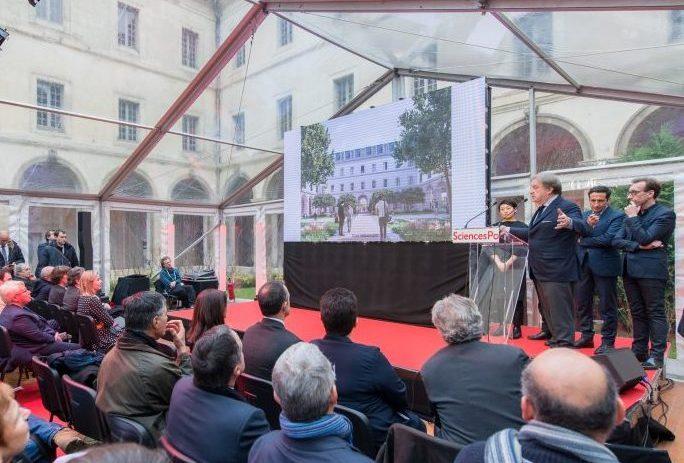 Présentation du projet architectural de Campus 2022