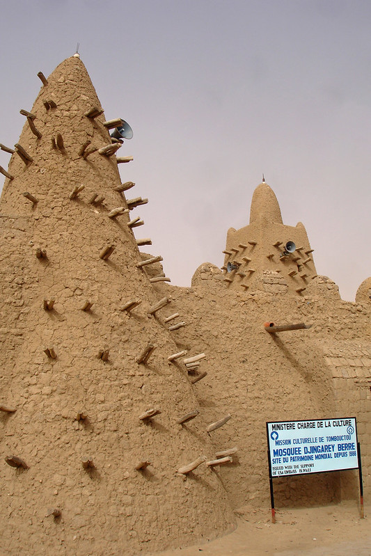 Timbuktu Mosque Copyright: CC by Carsten ten Brink