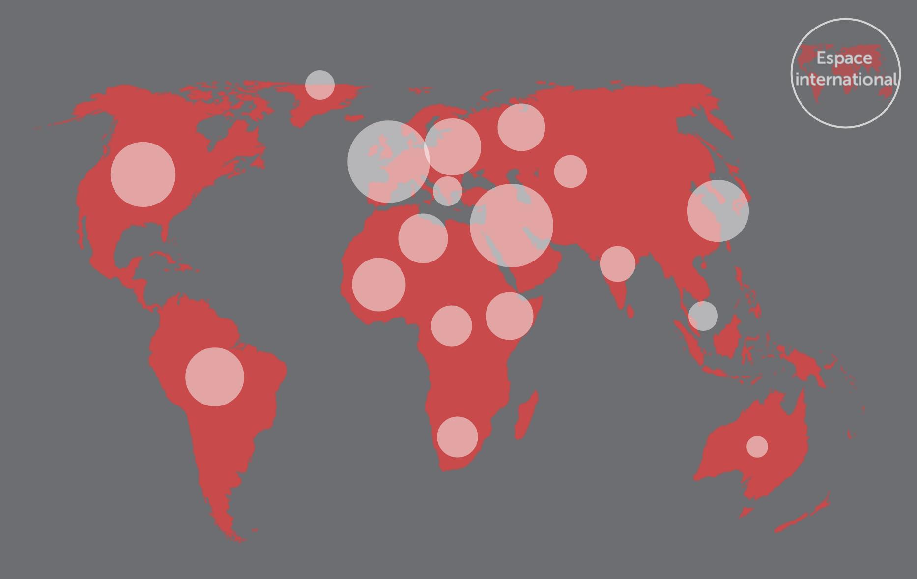 Illustration carte de la recherche