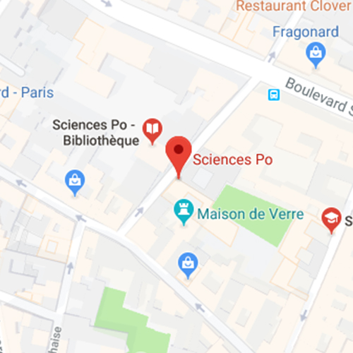 Localiser le campus sur Google Maps