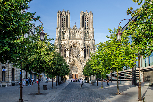Cathedral of Reims ©Evgeny Shmulev/Shutterstock
