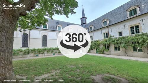 Visit the Reims campus