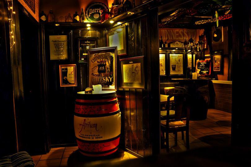 Un pub irlandais.