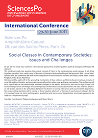Social Classes in Contemporary Societies leaflet