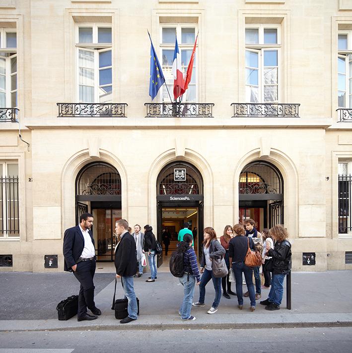 Sciences Po au 27 rue Saint-Guillaume... (Photo Manuel Braun)
