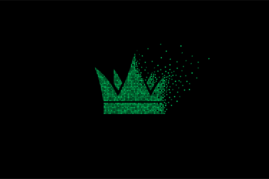 Pixel crown fading