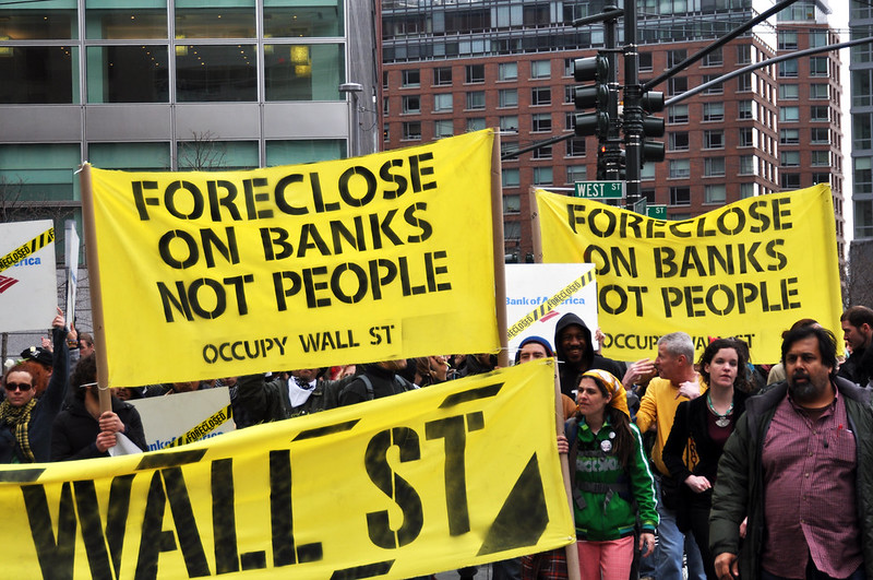 Occupy Wall Street March 16, 2012.