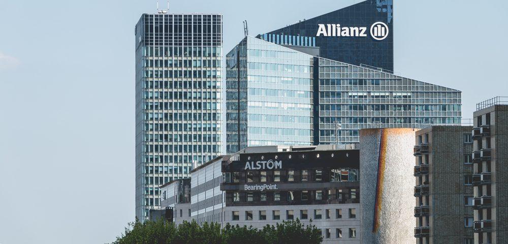 Allianz builing at la Défense. 2017