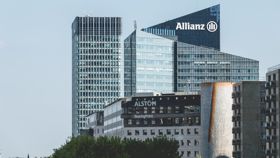Allianz builing at la Défense. 2017