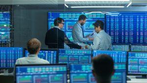 Big Stock Exchange. Crédits image : Gorodenkoff, Shutterstock