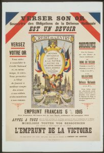 L'Emprunt de la Victoire, 1920. Source : Library of CongressCrédits : Public Domain