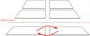 """Fig.3. """"Déconnexion"""". Crédits : médialab"""