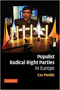 Mudde, C. (2007). Populist Radical Right Parties in Europe. Cambridge: Cambridge University Press.