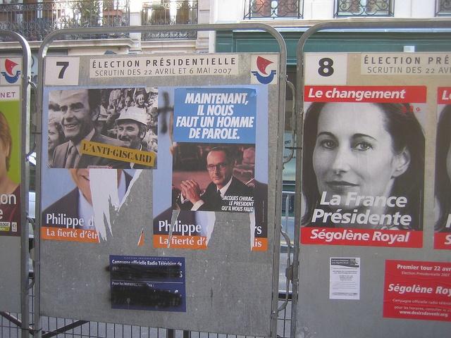 Méli-mélo d'affiches électorales