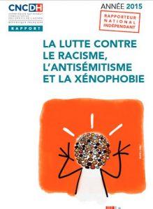 Rapport annuel sur la lutte contre le racisme, l'antisémitisme et la xénophobie