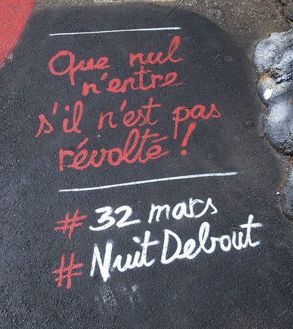 Nuit Debout. CC BY 2.0. Thierry Ehrmann