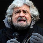 Beppe Grillo, ispiratore del movimento, nel 2012