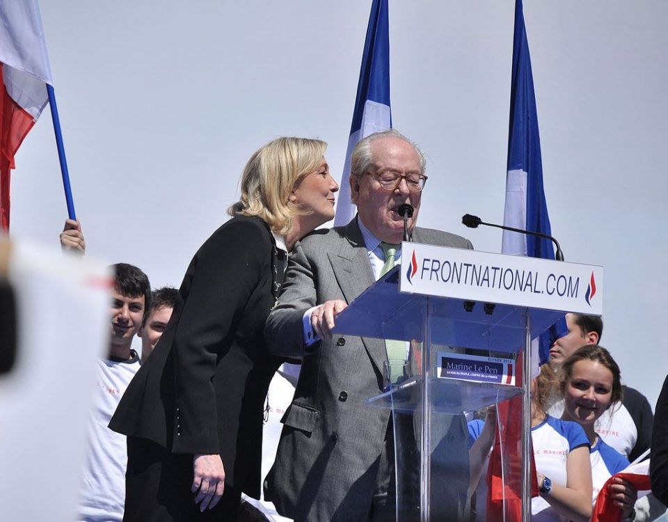 Meeting 1er mai 2012 Front National Crédits : Blandine Le Cain