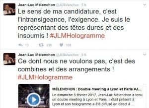 Extrait du compte twitt @JLMelenchon