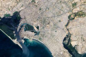 Karachi by NASA [Public domain], via Wikimedia Commons