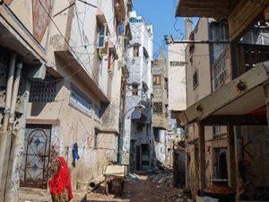 Un quartier contesté de Lyari, en proie à la violence des gangs (2013) - Crédits Laurent Gayer