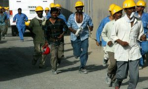 Burj Dubai Construction Workers, 2007 by Imre Solt.CC-BY-SA-3.0