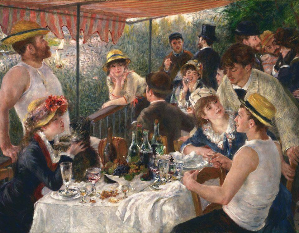 Pierre-Auguste_Renoir. Le Déjeuner des canotiers. Crédits : Domaine public