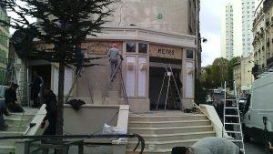 "Préparation du tournage du film ""Bastille Day"" by Jeanne Menjoulet, CC BY 2.0 via Wikimedia Commons"