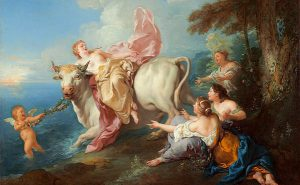 The Abduction of Europa, Jean-François de Troy, Domaine public