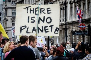 Photos taken at the climate march in London on 21st September 2014. Crédits : Garry Knight. Domaine public.