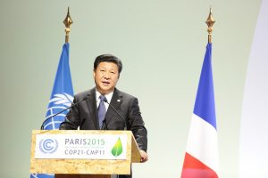 His Excellency Mr. Xi Jinping, President of China. Crédits : UNClimatChange. CC BY 2.0