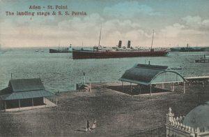 Le Port d'Aden vers 1910 Par Inconnu, Unknown author (Postcard, scanned by Flominator) [Public domain], via Wikimedia Commons