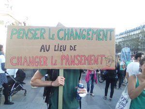 Marche pour le climat à Paris (arrivée place de la République). 8 septembre 2018 Crédits : JJ Georges Travail personnel