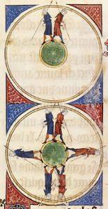 Quintilian, Institutio oratoria in ms. Florence, Biblioteca Medicea Laurenziana, Plut. 46.12, fol. 1r. Domaine public