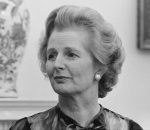 Margaret Thatcher at White House, 13 September 1977. Crédits : Library of Congress