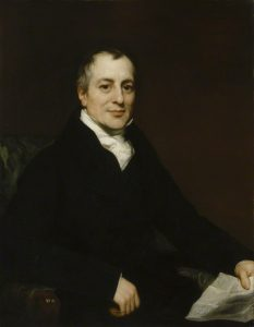 Portrait of David Ricardo by Thomas Phillips [Public domain], via Wikimedia Commons