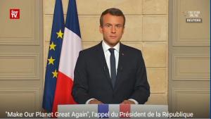 Le 1er juin 2017, le président français Emmanuel Macron a appele les scientifiques, ingénieurs et entrepreneurs américains à venir travailler en France sur « des solutions concrètes » pour le climat.