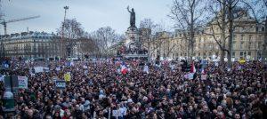 """12 janvier 2015 - Actualité #MarcheRépublicaine : """"quelle fierté d'être Français !"""" Crédits : Gouvernement français"""