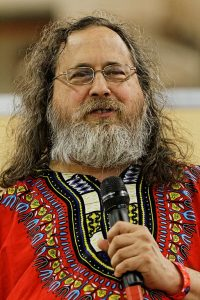 "Conference by Richard Stallman ""Free Software: Human Rights in Your Computer"", 2014 by Thesupermat [CC BY-SA 3.0"