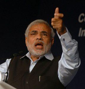 Narendra Modi at the World Economic Forum in India. November 2008. par Norbert Schiller, Copyright: World Economic Forum
