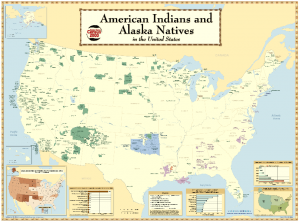 American Indian Reservations. Source : United States Census Bureau, 2006