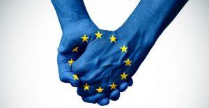 European solidarity. Crédits image : nito via Shutterstock