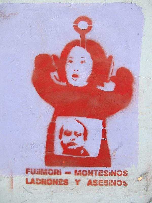 Keiko Fujimori Graffiti. ©Ed Kohler/CC BY 2.0