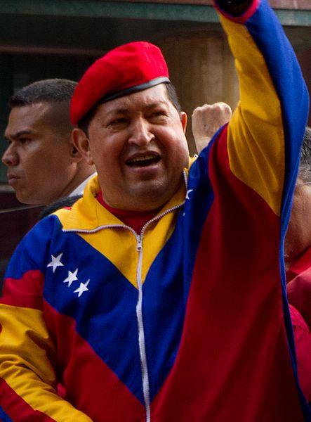 Hugo Chávez in 2012. © Walter Vargas, Flickr. CC BY-SA 2.0